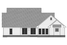 Dream House Plan - Country Exterior - Rear Elevation Plan #21-378