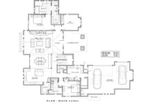 Craftsman Floor Plan - Main Floor Plan Plan #892-16
