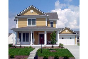 Craftsman Exterior - Front Elevation Plan #458-11