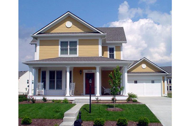 Craftsman Style House Plan - 3 Beds 4 Baths 3496 Sq/Ft Plan #458-11