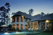 European Style House Plan - 4 Beds 4.5 Baths 4629 Sq/Ft Plan #20-1731 Exterior - Other Elevation