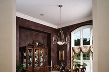 European Interior - Dining Room Plan #70-781