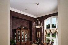 Dream House Plan - European Interior - Dining Room Plan #70-781