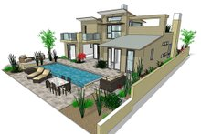 Home Plan - Modern Photo Plan #484-2