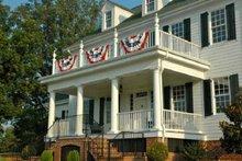 Dream House Plan - Farmhouse Exterior - Front Elevation Plan #137-166