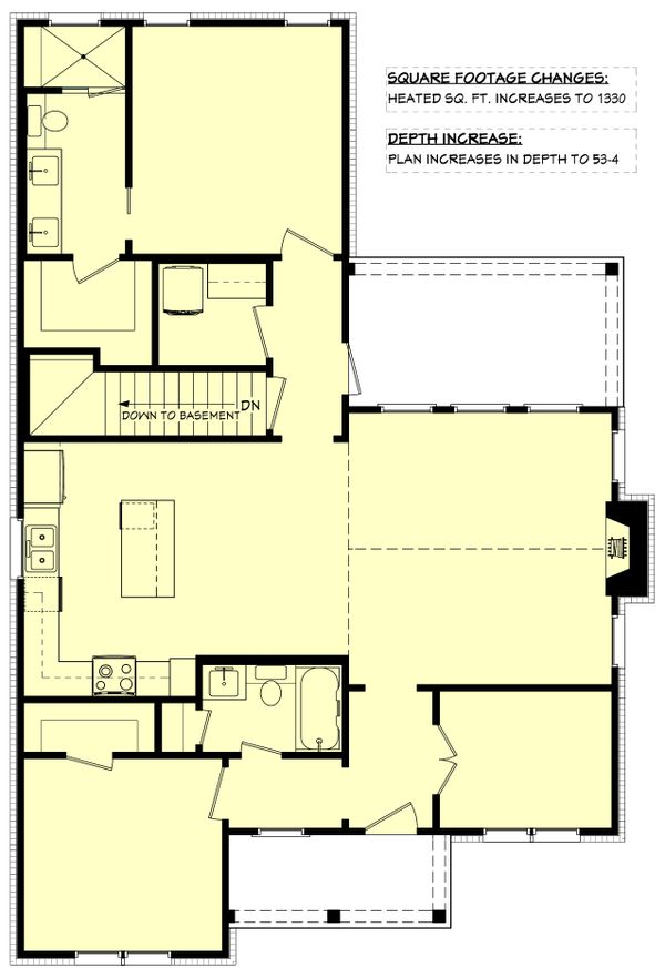 Dream House Plan - Cottage Floor Plan - Other Floor Plan #430-247