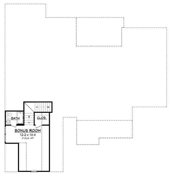 Country Floor Plan - Other Floor Plan Plan #430-151