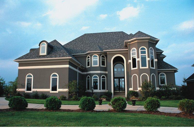 Home Plan Design - European Exterior - Front Elevation Plan #20-1183