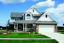 Dream House Plan - Victorian Exterior - Front Elevation Plan #20-531