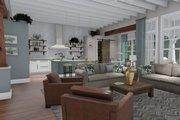 Farmhouse Style House Plan - 3 Beds 2.5 Baths 2504 Sq/Ft Plan #120-255 Interior - Family Room