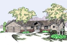 Dream House Plan - Traditional Exterior - Front Elevation Plan #60-498