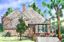 House Plan Design - Contemporary Exterior - Front Elevation Plan #52-144