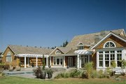 Country Style House Plan - 4 Beds 4.5 Baths 4790 Sq/Ft Plan #48-237 Exterior - Outdoor Living