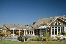 Dream House Plan - Country Exterior - Outdoor Living Plan #48-237