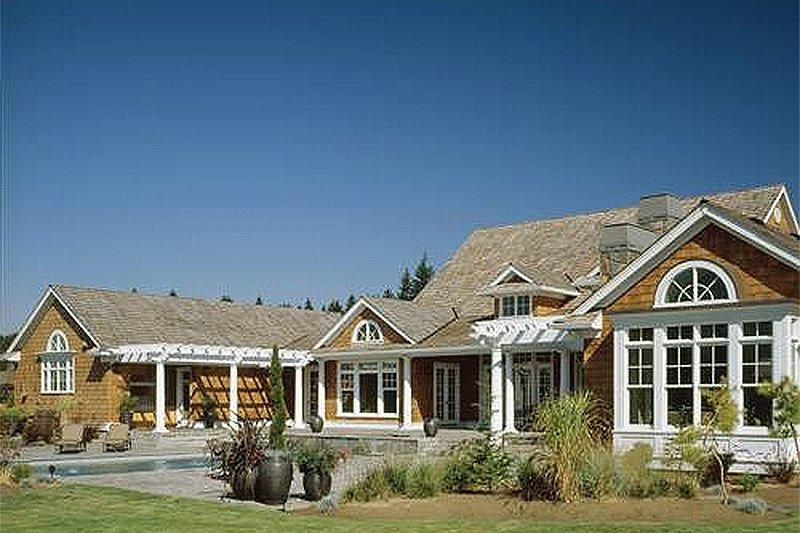 Country Exterior - Outdoor Living Plan #48-237 - Houseplans.com