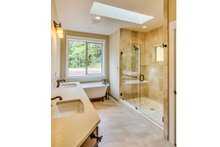 Craftsman Interior - Master Bathroom Plan #124-988