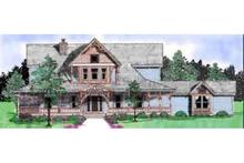 Dream House Plan - Victorian Exterior - Front Elevation Plan #52-182