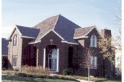 European Style House Plan - 4 Beds 3.5 Baths 3992 Sq/Ft Plan #20-1178 Exterior - Other Elevation