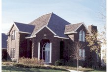 House Plan Design - European Exterior - Other Elevation Plan #20-1178
