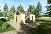 Modern Style House Plan - 1 Beds 1 Baths 315 Sq/Ft Plan #549-33 Exterior - Other Elevation