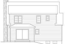 Country Exterior - Rear Elevation Plan #22-582
