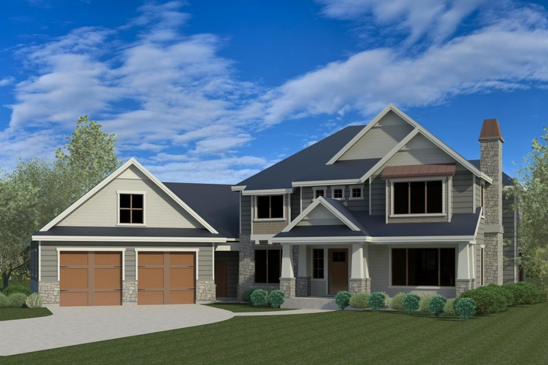 Dream House Plan - Traditional Exterior - Front Elevation Plan #920-84