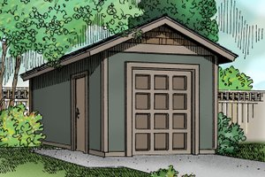 Traditional Exterior - Front Elevation Plan #124-795