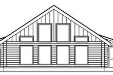 Log Exterior - Other Elevation Plan #124-390