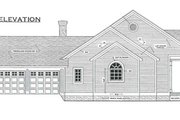 Southern Style House Plan - 3 Beds 2.5 Baths 1955 Sq/Ft Plan #406-285 Exterior - Other Elevation