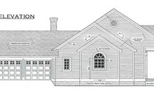 Home Plan - Southern Exterior - Other Elevation Plan #406-285