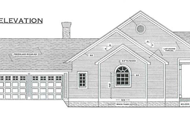 Southern Exterior - Other Elevation Plan #406-285 - Houseplans.com