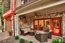 Craftsman Exterior - Outdoor Living Plan #70-1433