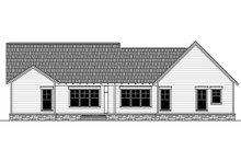 Home Plan - Craftsman Exterior - Rear Elevation Plan #21-381