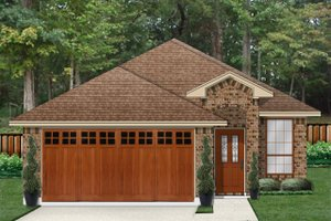 Traditional Exterior - Front Elevation Plan #84-639