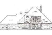 Dream House Plan - European Exterior - Rear Elevation Plan #310-975