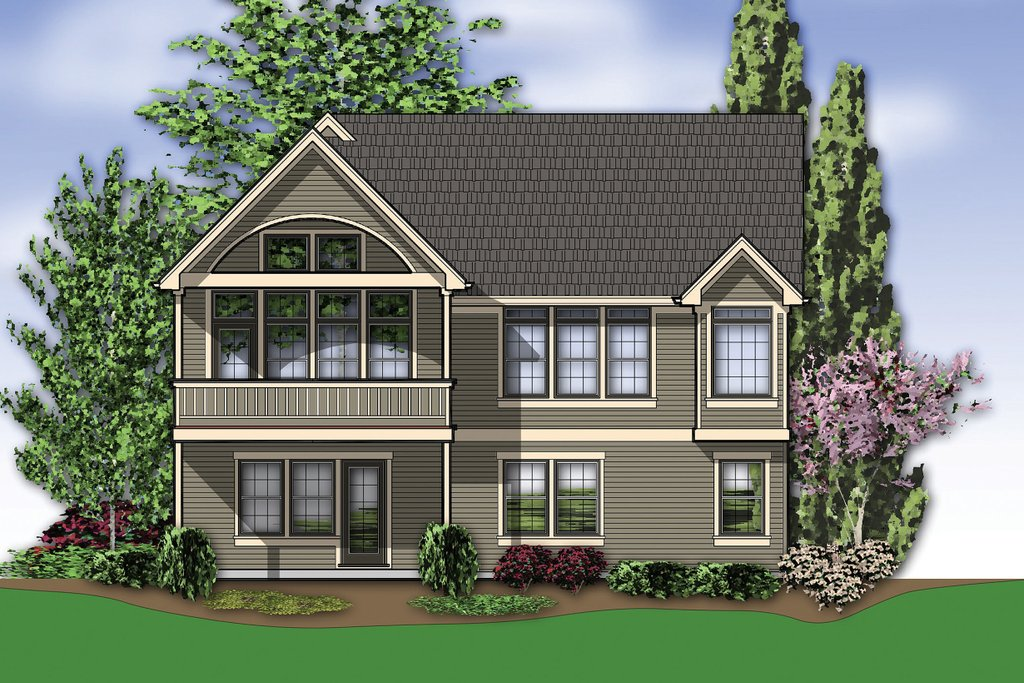 Traditional style house plan 3 beds 2 5 baths 1999 sq ft for Sater design homes for sale