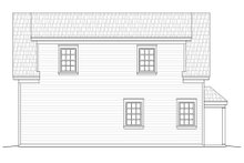 Country Exterior - Rear Elevation Plan #932-16