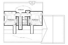 Country Floor Plan - Upper Floor Plan Plan #137-294
