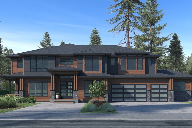 Architectural House Design - Traditional Exterior - Front Elevation Plan #1066-78