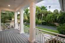 Beach Exterior - Covered Porch Plan #938-108