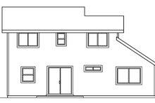 House Design - Exterior - Rear Elevation Plan #124-470