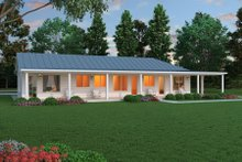 Ranch Exterior - Front Elevation Plan #888-5