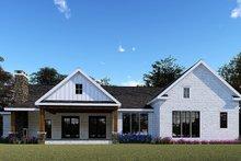 Farmhouse Exterior - Rear Elevation Plan #923-154