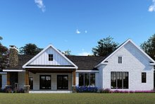 House Plan Design - Farmhouse Exterior - Rear Elevation Plan #923-154