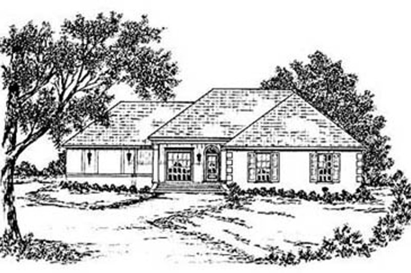 House Design - European Exterior - Front Elevation Plan #36-140