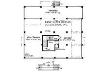 Country Floor Plan - Lower Floor Plan Plan #930-28