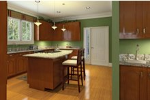 House Plan Design - Country Interior - Kitchen Plan #929-18