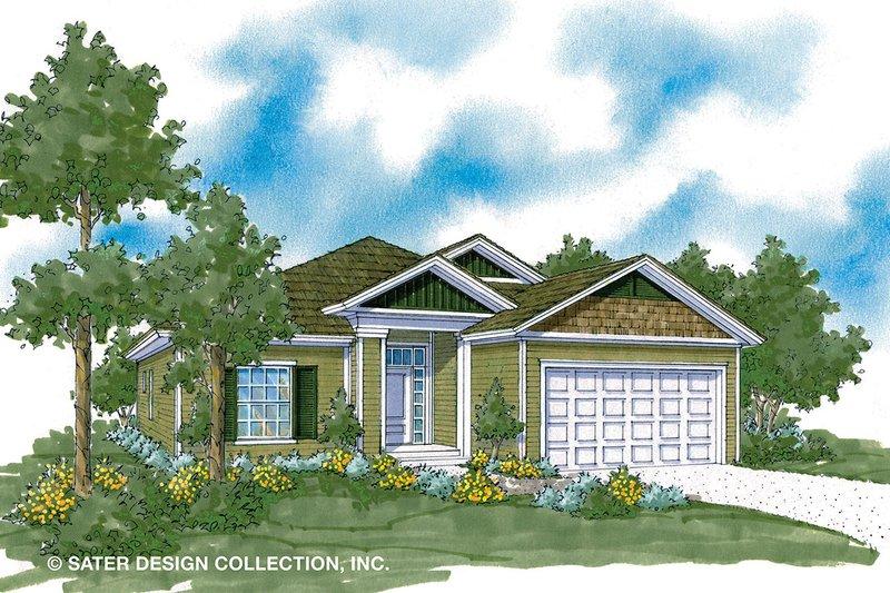 House Plan Design - Ranch Exterior - Front Elevation Plan #930-484