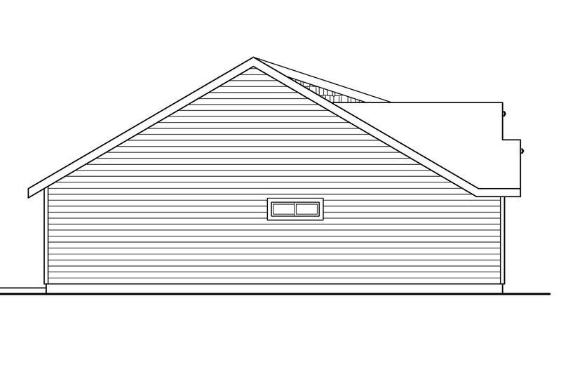 Craftsman Exterior - Other Elevation Plan #124-695 - Houseplans.com