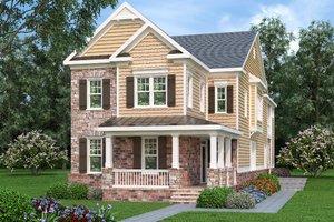 Craftsman Exterior - Front Elevation Plan #419-285